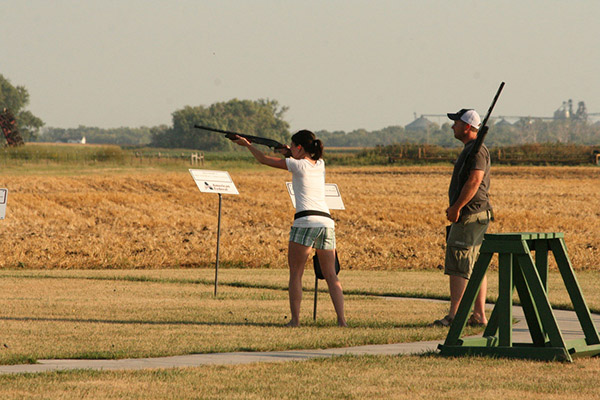 Purchase a membership for the Rifle or Archery Range